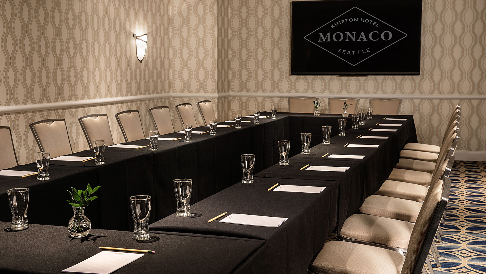 Kimpton Hotel Monaco business meeting space