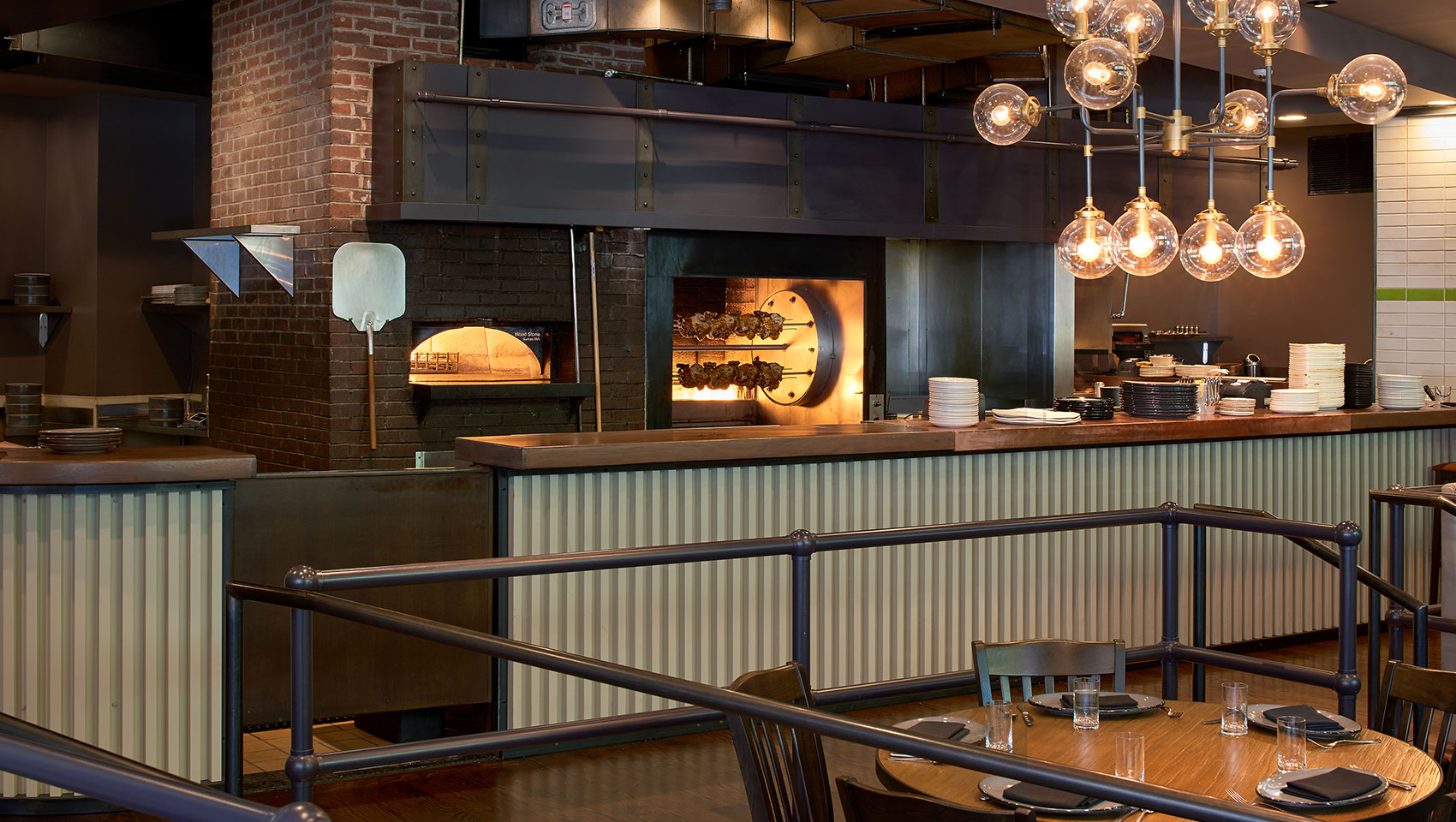 brick oven restaurant downtown