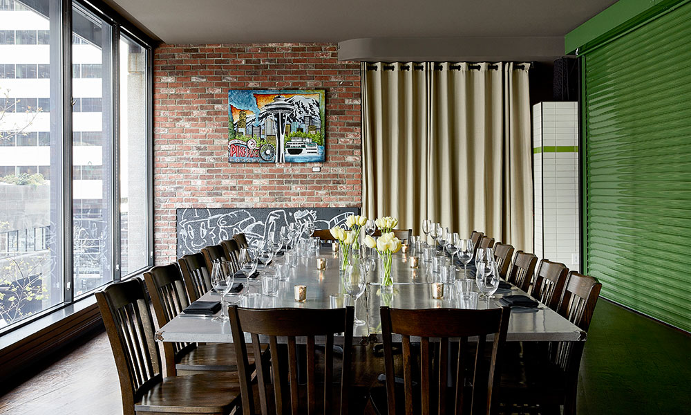 downtown seattle private dining space