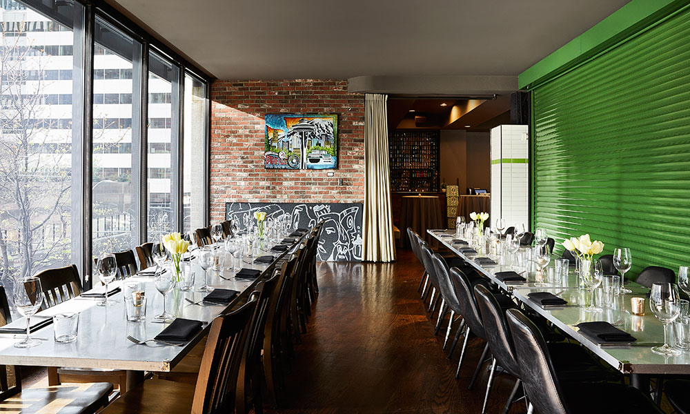 family style private dining at Outlier